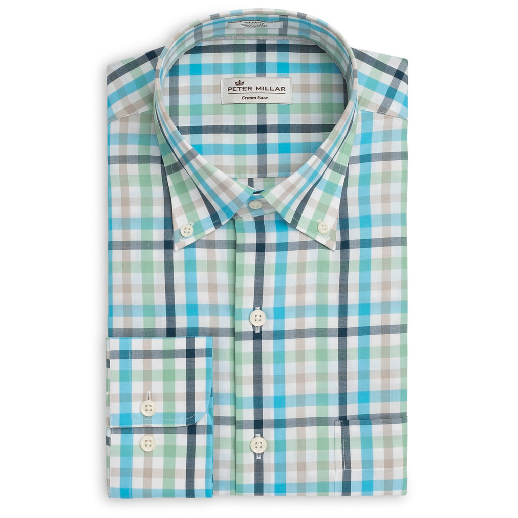 Peter Millar Crown Ease Kohala Check, Shirts, Peter Millar, - V Collection
