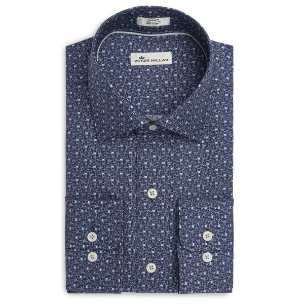 Peter Millar On The Rocks Shirt, Shirts, Peter Millar, - V Collection