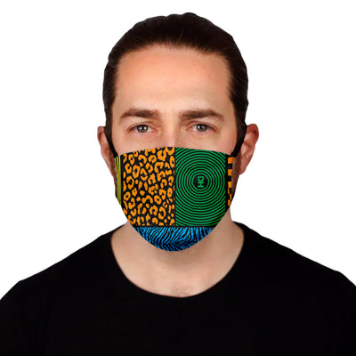 Jungle Swatch Mask