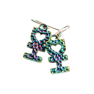 DH SYMBOL EARRINGS