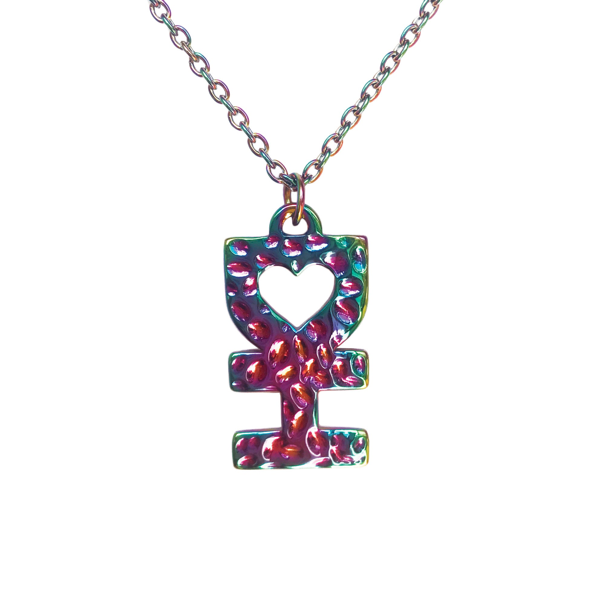 shimmer girls crimson one necklace heart pendant s of women a pink kind and red fire unique product womens