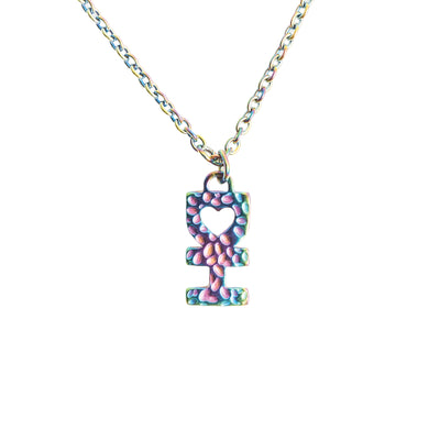 LITTLE DH SYMBOL NECKLACE