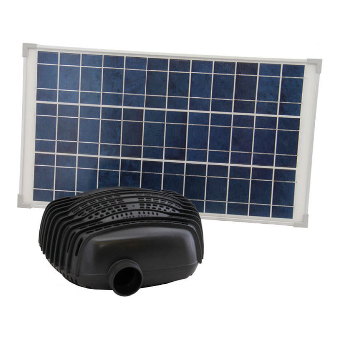 Reefe Solar Fountain Kit w/ Solar Panel - 2500 L/H