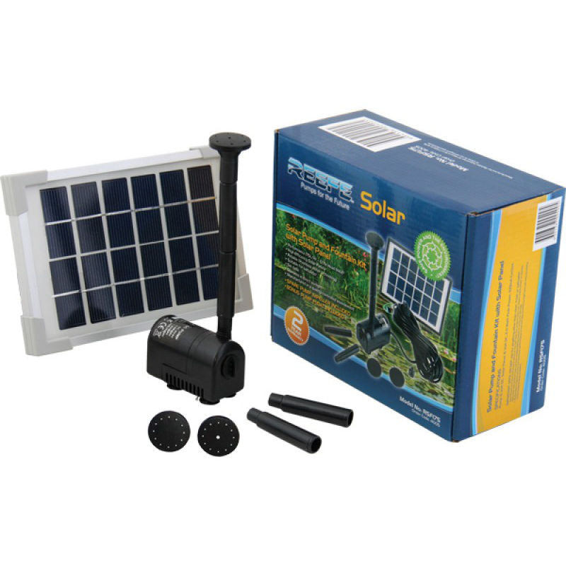 Reefe Solar Fountain Kit w/ Solar Panel - 175 L/H