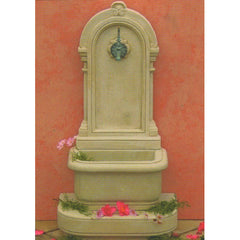 Georgian Outdoor Wall Fountain - 113cm