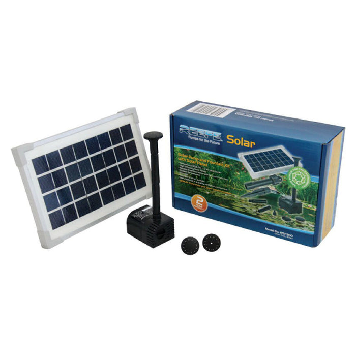 Reefe Solar Fountain Kit w/ Solar Panel - 300 L/H