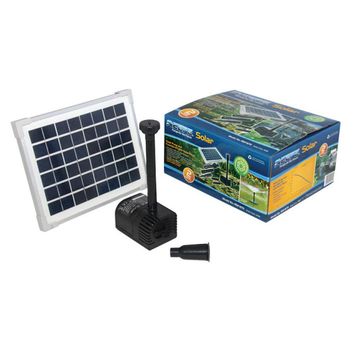 Reefe Solar Fountain Kit w/ Solar Panel - 470 L/H