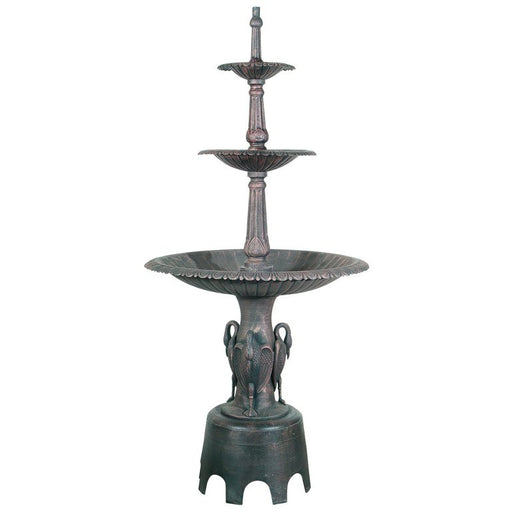 Heron 3-Tier Large Water Fountain - 260cm