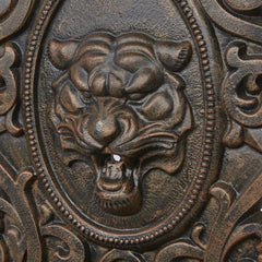 Lion Face Cast Iron Large Wall Fountain - 120cm