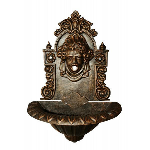 Louise Cast Iron Wall Fountain