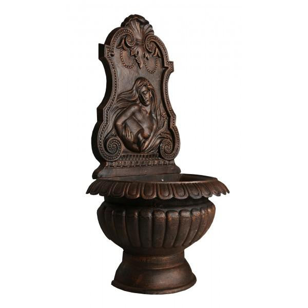 Amphora Cast Iron Wall Fountain - 120cm