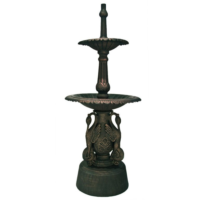 Ibis Cast Iron 2-Tier Large Water Fountain - 147cm