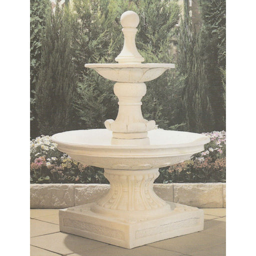 Monteray 2-Tier Concrete Water Feature - 157cm