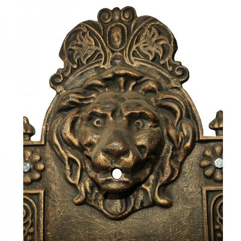 Lion Wall Fountain - 77cm