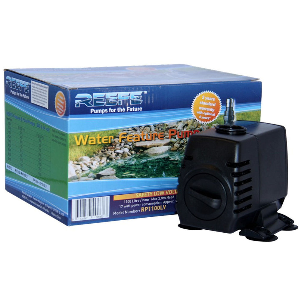 Reefe Pond & Water Fountain Pump Low Voltage 24V - 2400LPH