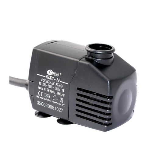 Resun King 1F Fountain or Waterfall Pond Pump - 240V 380L/hr