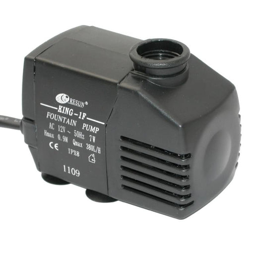 Resun King 1AFLV Fountain or Waterfall Pond Pump - 12V 700L/hr