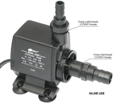 Resun King 2AFL Fountain or Waterfall Pond Pump - 24V 1500L/hr