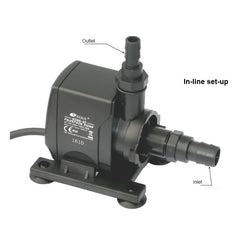 Resun King 2F Fountain or Waterfall Pond Pump - 240V 1000L/hr