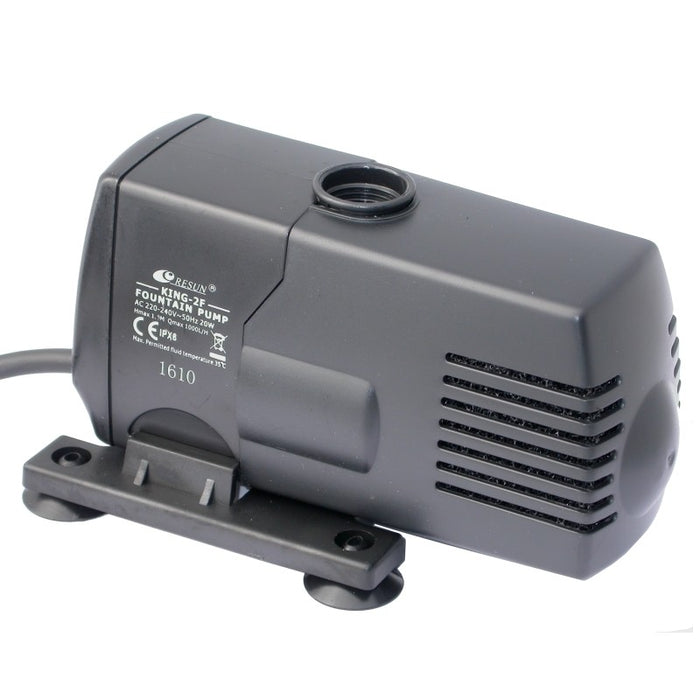 Resun King 2F Fountain or Pond Pump - 240V 1000L/H - Max 1.7m
