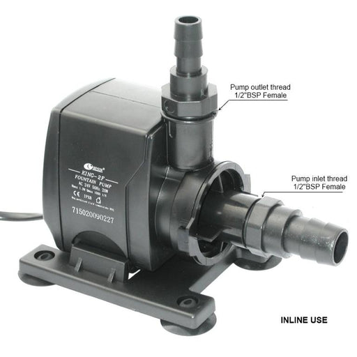 Resun King 2FLV Fountain or Waterfall Pond Pump - 24V 1000L/hr