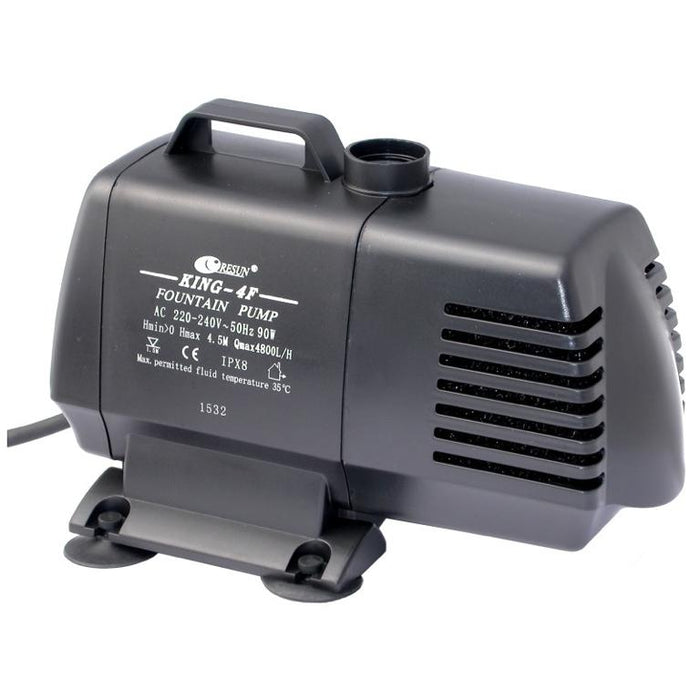 Resun King 4F Fountain or Pond Pump - 240V 4800L/H - Max 4.1m