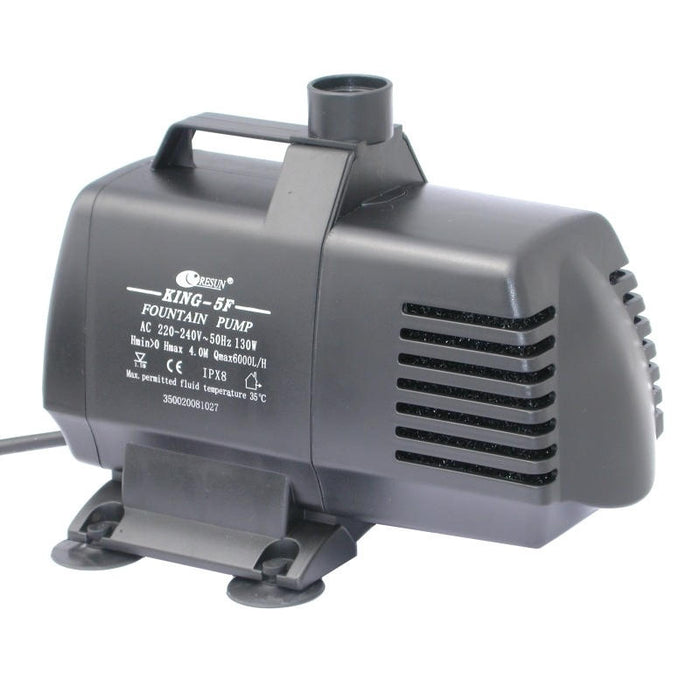 Resun King 5F Fountain or Pond Pump - 240V 6000L/H - Max 4m