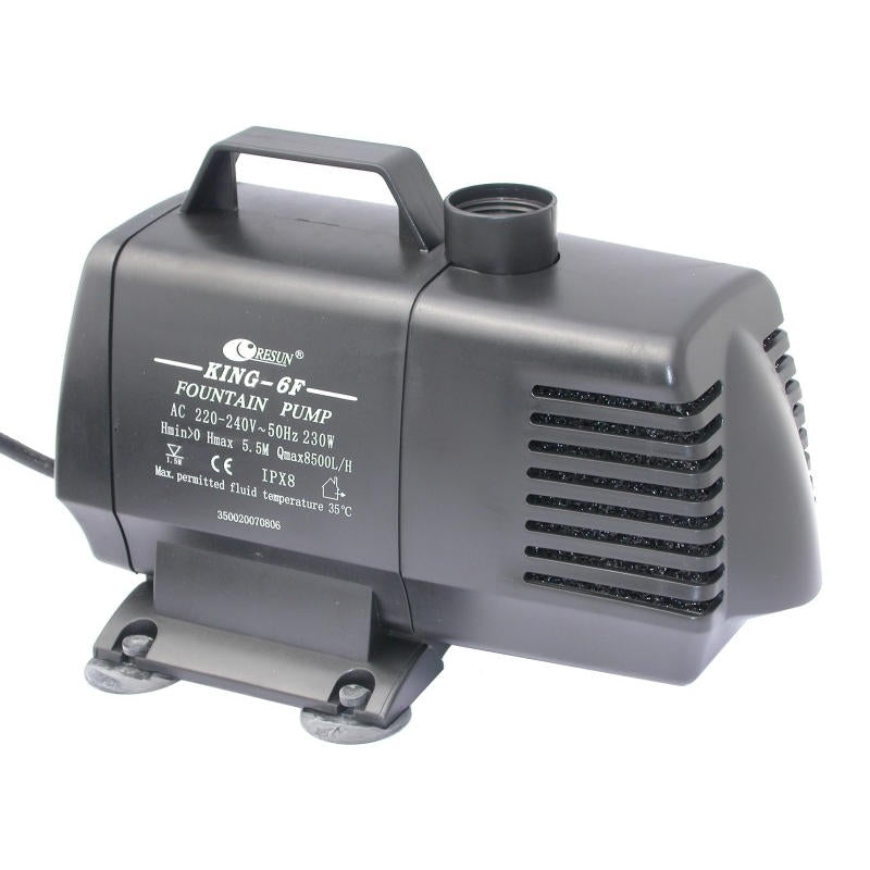 Resun King 6F Fountain or Waterfall Pond Pump - 240V 8500L/hr