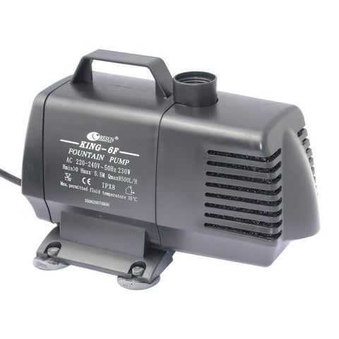 Image of Resun King 6F Fountain or Waterfall Pond Pump - 240V 8500L/hr