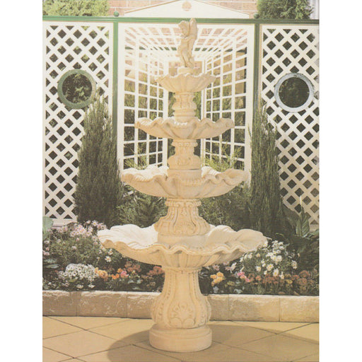 The Amarillo (4 tier) Concrete Water Feature - 240cm
