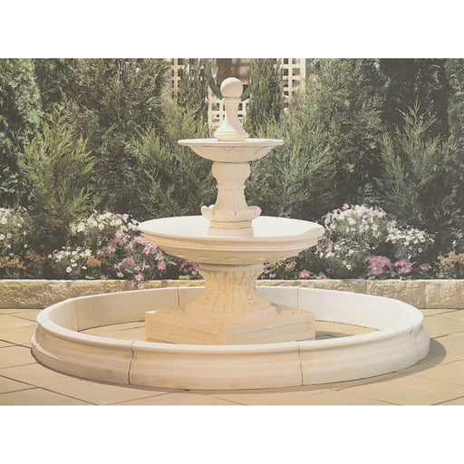 Classical Concrete Fountain Pond - 200cm