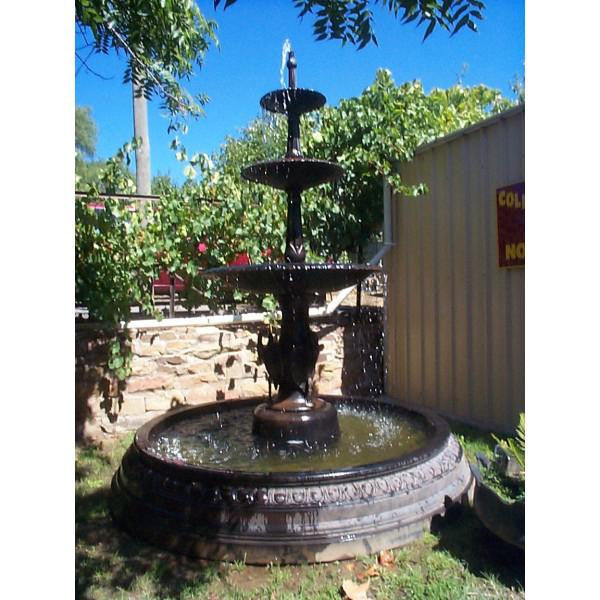 Fibreglass Pond for Tiered Fountains - Large 220cm