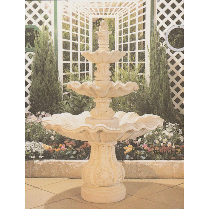 Catalina 3-Tier Concrete Water Feature - 185cm