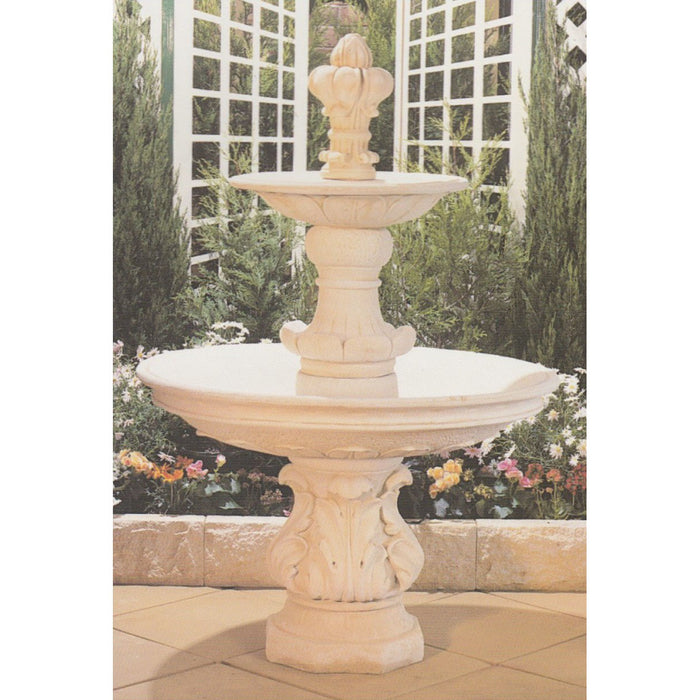 Terrace 2-Tier Concrete Water Feature - 162cm