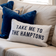 TAKE ME TO THE HAMPTONS Dark Blue Cushion Cover 30 cm by 50 cm