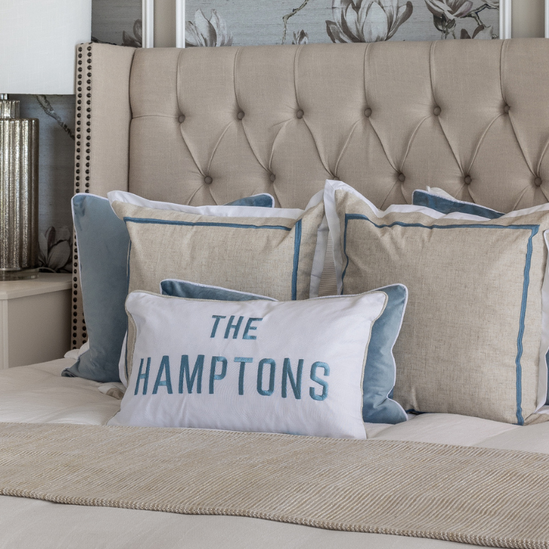 THE HAMPTONS Duck Egg Blue Cushion Cover | Hamptons Home