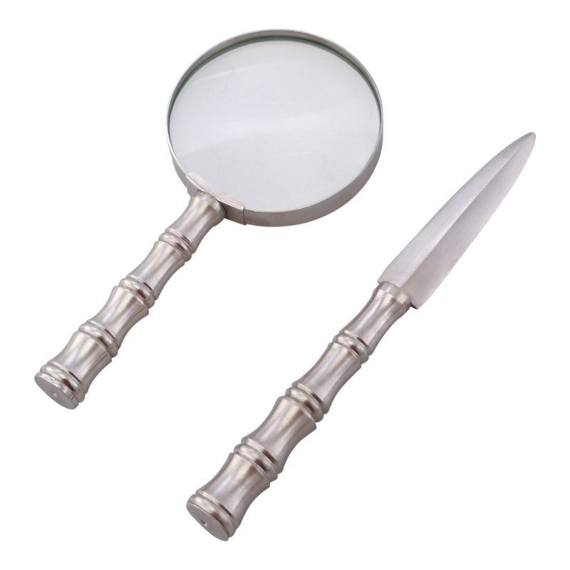 Adler Magnifying and Letter Opener Set | Hamptons Home