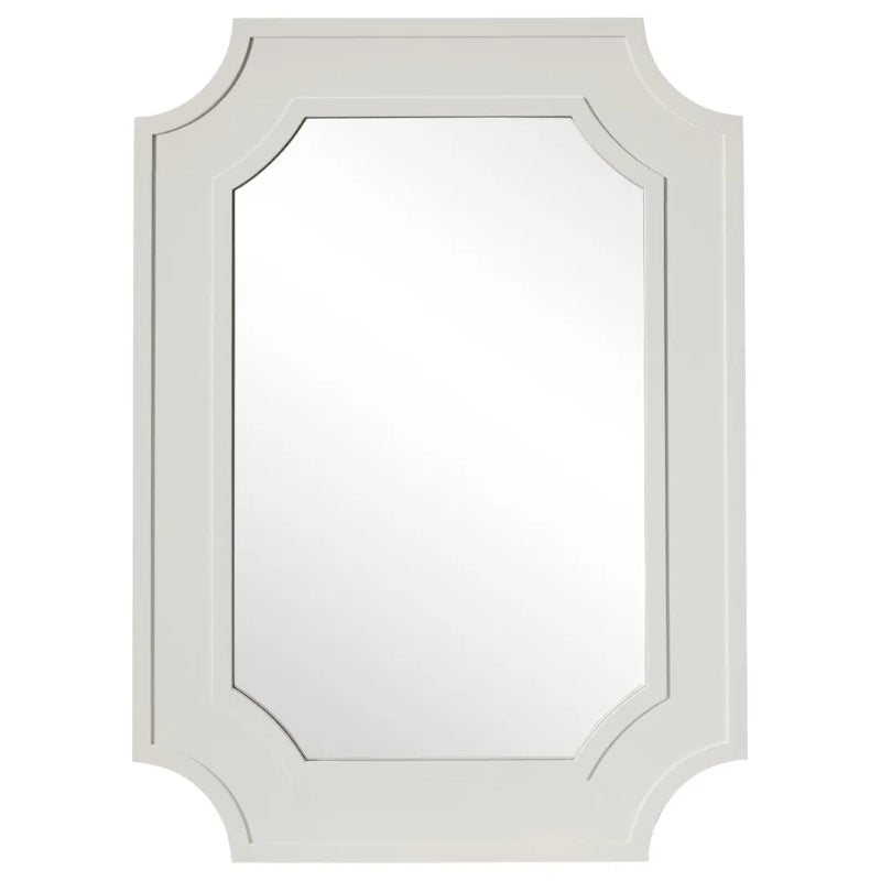 Hamptons Home Bungalow Wall Mirror Grey 110 cm H