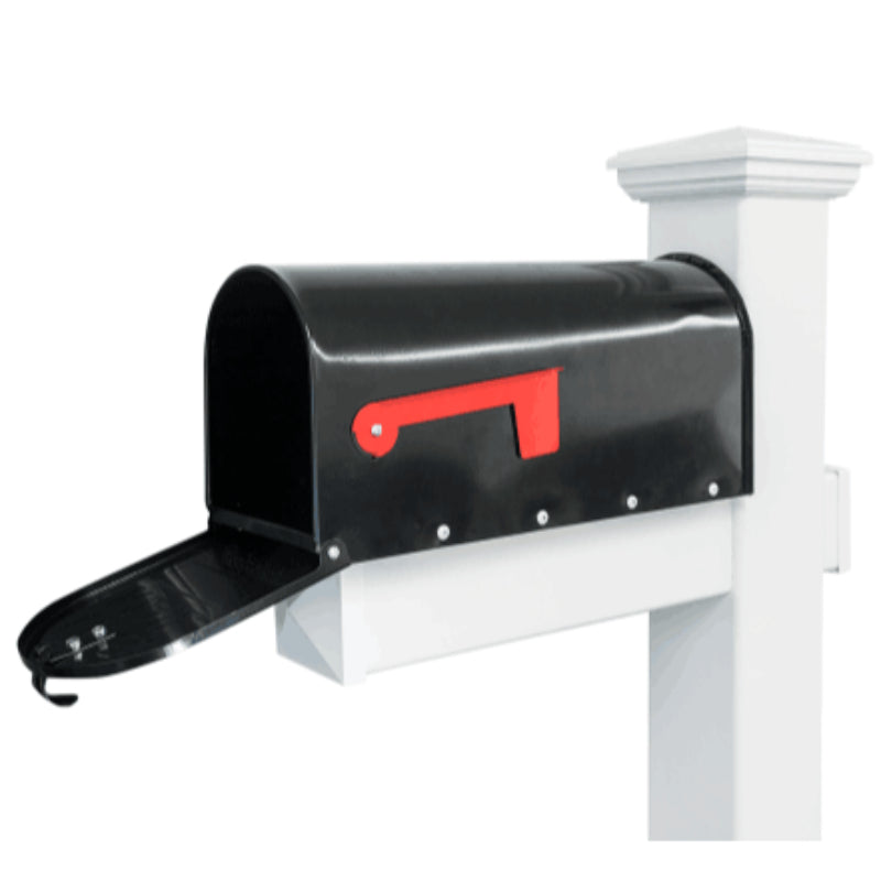 Cape Cod American Style Hamptons Style PVC Freestanding US Style Letterbox