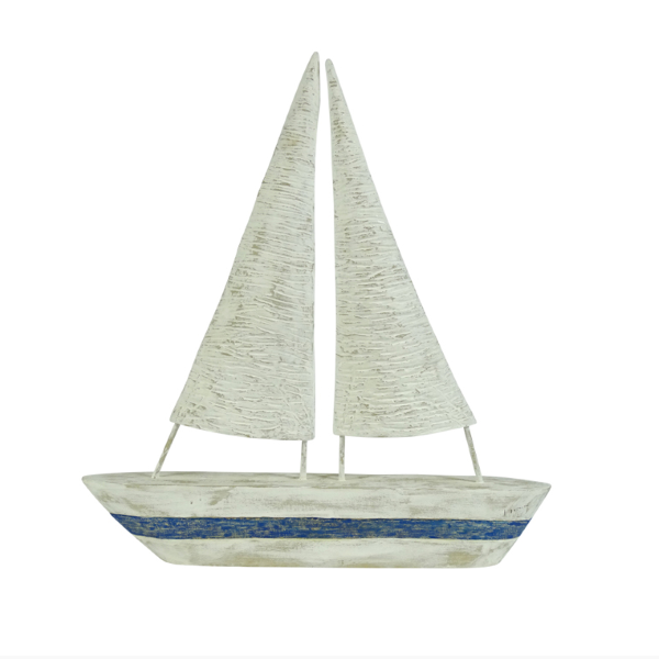 Hamptons Home Hamptons Bay Sailboat Decor Set of 2