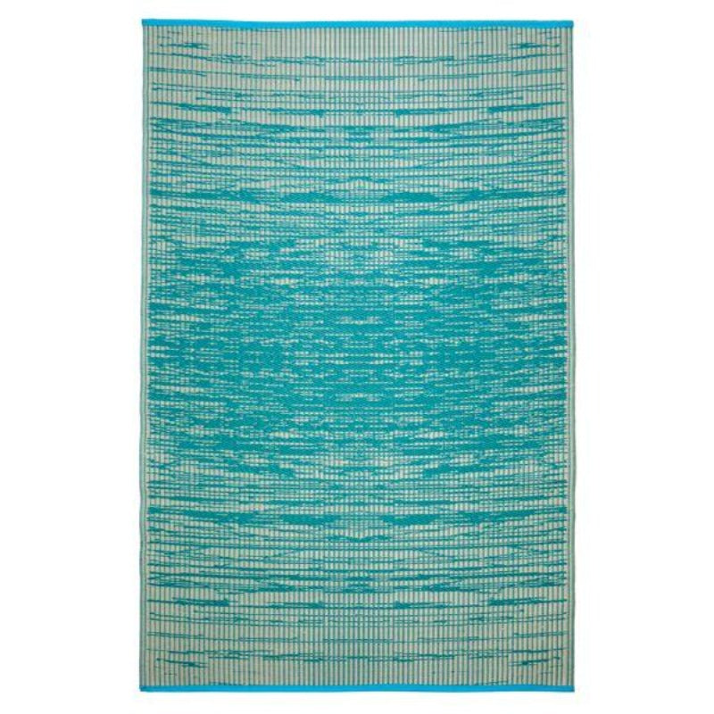 Hamptons Home Brooklyn Teal Outdoor Rug