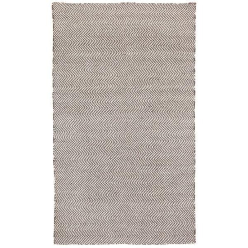 Hamptons Home Herringbone Ash Grey Indoor Outdoor Rug