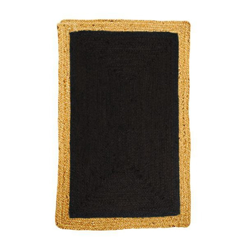 Hamptons Home Phoenix Black Jute Rug