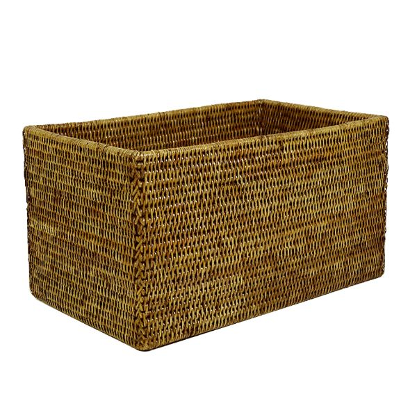 Hamptons Home Sag Harbour Large Rattan Storage