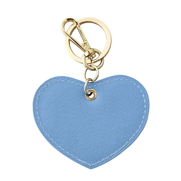 TAKE ME TO THE HAMPTONS Nile Blue Leather Keyring Gift Box Set | Hamptons Home