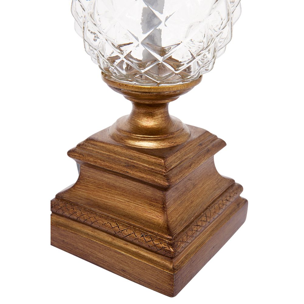 Langley Table Lamp - Antique Gold | Hamptons Home