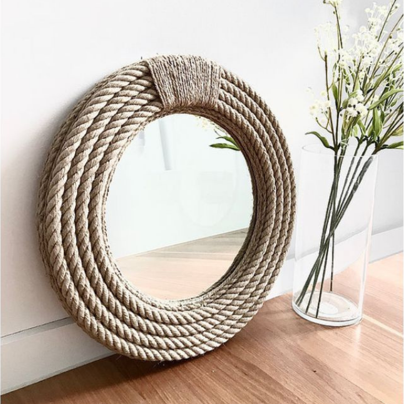 Nautical Dream Rope Mirror