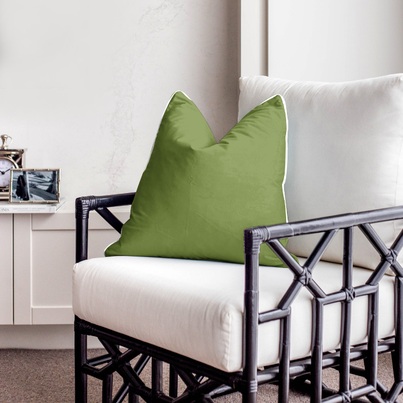 Nickel Pineapple Leaf Lamp with Natural Shade | Hamptons Home