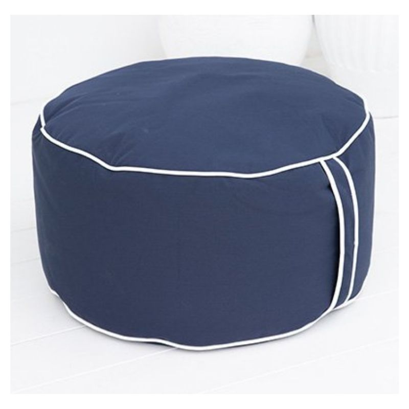 Sag Harbor Outdoor Bean Bag Ottoman (Various Colours)