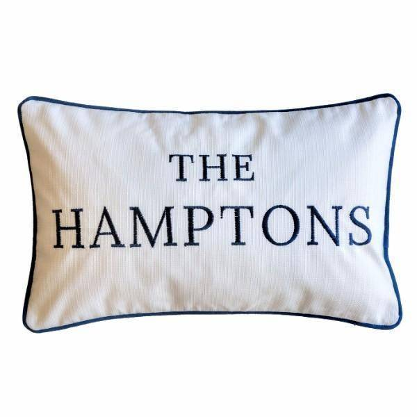 THE HAMPTONS Cushion Cover 30 cm by 50 cm - Hamptons Home {product_type]